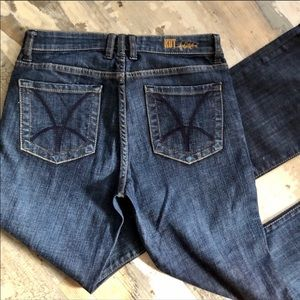 NWOT Kut from the Kloth Farrah baby boot cut jeans